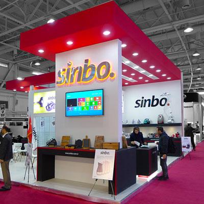 غرفه سازی غرفه SINBO