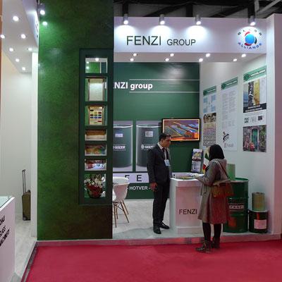 غرفه سازی غرفه گروه FENZI